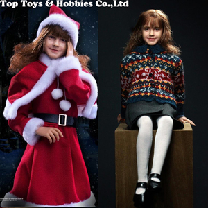 Figuras de acción de Hermione XM0003 para colección, conjunto completo de figuras de niña pequeña, regalo para colección de seguidores, Emma Watson, 1/6
