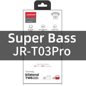 Joyroom T03 Pro TWS Bluetooth Earphones Noice Cancelling Wireless Headphones Earbud In-Ear True New upgraded 360 mAh