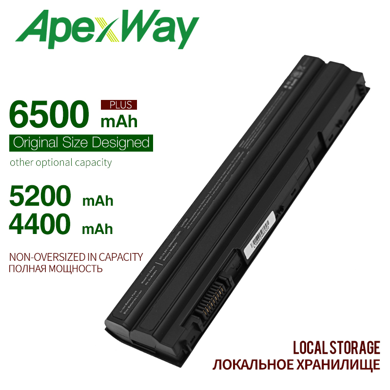 4400mAh laptop battery for DELL 5720 3460 E6430 E652 <font><b>E5420</b></font> <font><b>E5420</b></font> E5420m E5430 E5520 T54FJ E5530 E6420 7720 5520 7520 P14F001 image