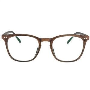 Image 5 - NYWOOH fotokromik bitmiş miyopi gözlük kadın erkek imitasyon ahşap çerçeve öğrenci 1.56 asferik Lens Shortsighted gözlük