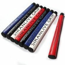 Новинка, отличные ручки для гольфа, высокое качество, натуральная кожа, клюшки для гольфа, 7 цветов, кожаные ручки для гольфа