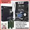 HUANANZHI X99-TF motherboard with Xeon processor 2678 V3 SR20Z 2.5GHz REG ECC memory 64G(4*16G) 1866 computer parts DIY service 1