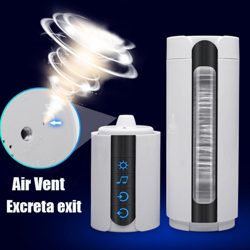 Auto Suck Smart Heating Masturbating Cup Vibration Artificial Vagina Men Sex Toys for man Waterproof easy and convenient to use