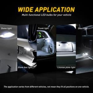 Светодиодная лампа Canbus для салона автомобиля, 31 мм, 36 мм, 41 мм, C5W, для Mercedes-Benz W211, W203, W204, W208, W210, W209, W169, AMG, CLK, без ошибок