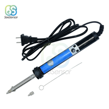 Electric Soldering Iron 220V 30W Welding Solder Iron Rework Station Heat Pencil Welding Repair Tools 2016 new high power 75w industrial grade lead free station 936b electric iron welding soldering rework repair tool