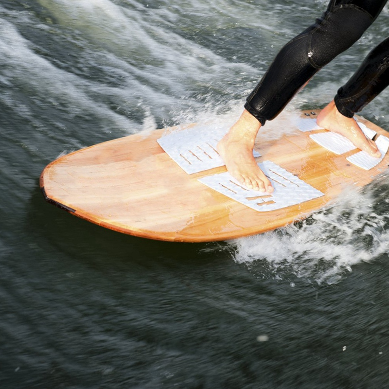 3Pcs Surfboard Deck Traction Pad 3 Meter Self-Adhesive Eva Surfboard Longboard Pad For Surfboards, Shortboards, Longboards, Skat