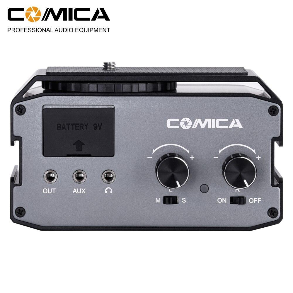 Adaptador de Áudio Mixer para Canon Filmadora para Fotografar Comica Dupla 6.35mm 3.5mm Microfone Nikon Dslr Câmera Vídeos Cvm-ax3 Xlr – Mod. 1487541