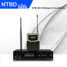 NTBD In Ear Monitor Wireless System STM-502 Single Transmitter Monitoring Professional for Stage Performance
