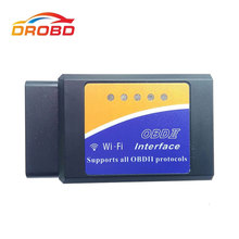 OBD ELM327 V1.5 Wifi Supports all AT command Super MINI ELM 327 Version 1.5 OBD2 / OBDII for Android /IOS /PC Car Code Scanner