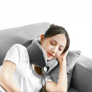 Image 5 - شاومي Mijia LF LERAVAN متعددة الوظائف U شكل تدليك الرقبة تدليك وسادة الرقبة الاسترخاء العضلات العلاج مدلك النوم وسادة