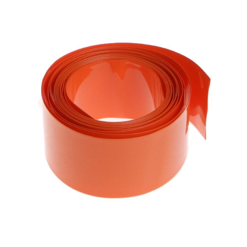 2 м ПВХ термоусадочная трубка обертка комплект для 18650 18500 батарея плоский круглый 18,5 мм B95A|Кабельные рукава|   | АлиЭкспресс