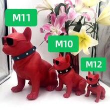 Altavoz Bluetooth con forma de perro Bulldog, tarjeta inalámbrica M11, dibujos animados, M10, M8, Comercio Exterior, Audio creativo