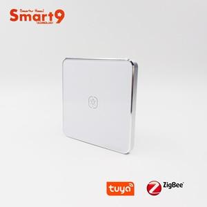Image 3 - Interruptor de batería Smart9 ZigBee, que funciona con el concentrador TuYa ZigBee, Interruptor táctil Sticker Smart Life App Control, alimentado por TuYa