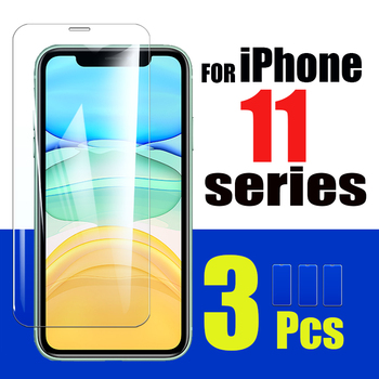 1-3PCS Iphone11 pro max protective glass screen protector on for apple iphone 11 11pro phone11 screenprotector cam sheet glas 9H