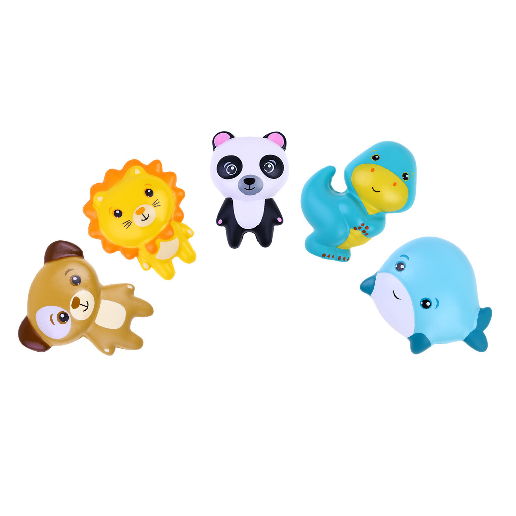 Cartoon Animal Slow Rising Scented Stress Relief Sticker Toy For Bookmark Slow Rebound Series Phone/Notebook L103