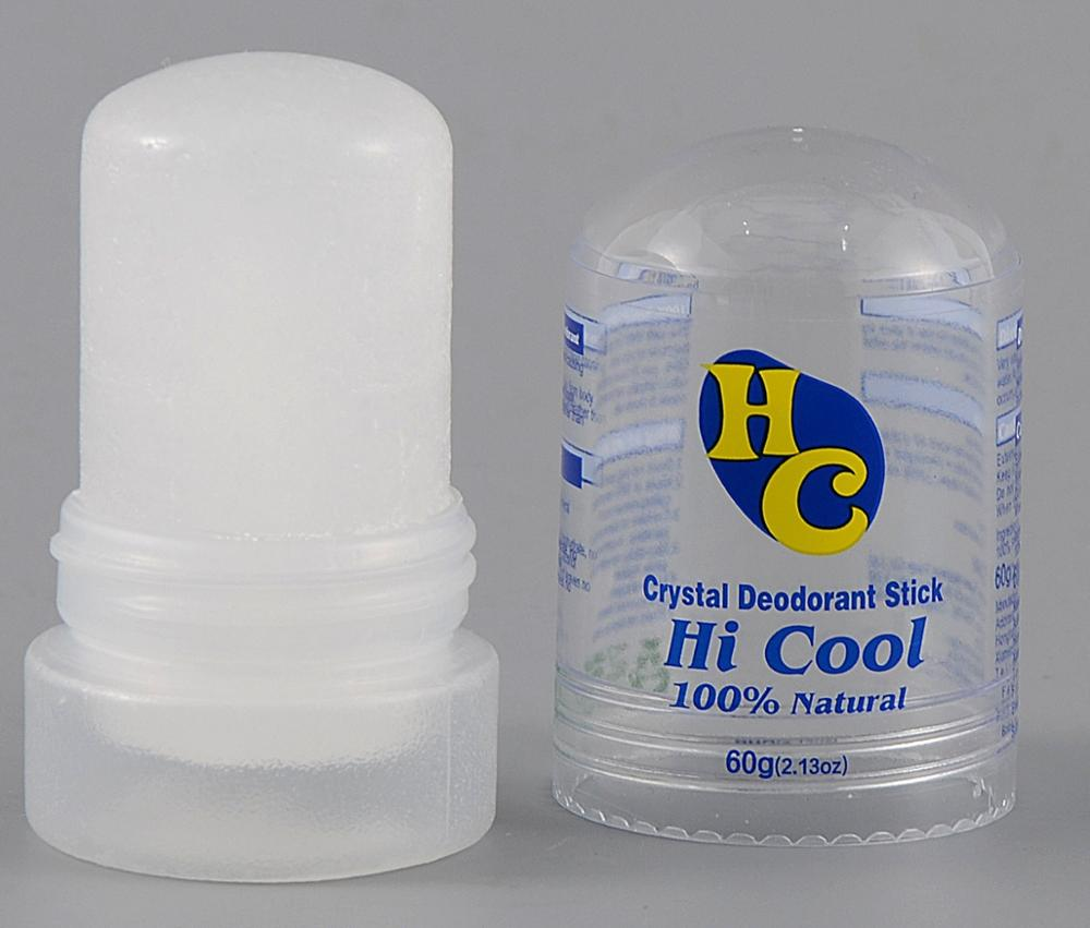 60g Crystal Deodorant Alum Stick Body Underarm Odor Remover Antiperspirant for Men and Women Deodorant Stick 2