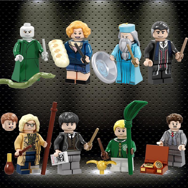ed Harry Series Potters Mad Eyes Moody Credence Barebone Dumbledore Kowalski Goldstein Building blocks Gift Toys PG8173