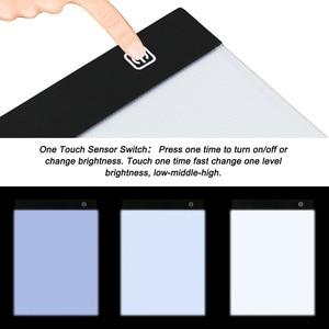 Image 4 - A4 LED אור Pad עבור יהלומי ציור, USB מופעל 5D יהלומי רקמת אביזרי אור לוח ערכת כלים