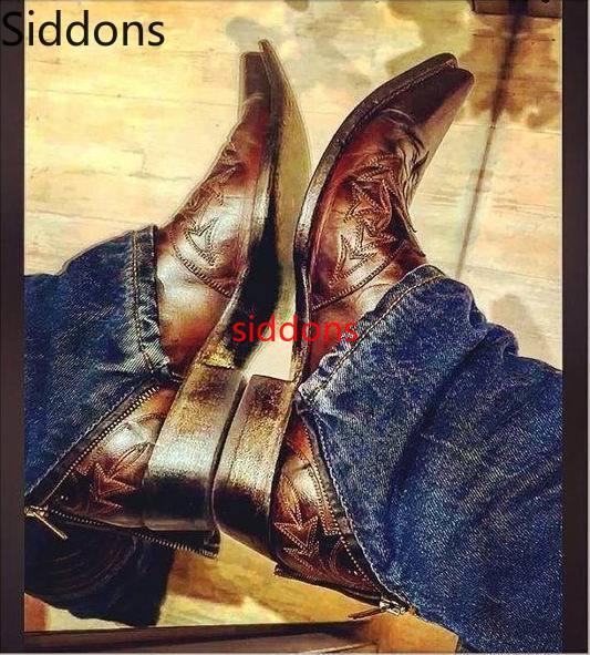 Winter Ankle Boots Men Shoes With Fur Warm Vintage Classic Male Casual Motorcycle Boot  Zapatos De Hombre Fashion Shoes Men D107
