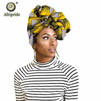 Fashion african head scarf print cotton high quality women african clothing bazin rich Headwear wax A18H002 - DISCOUNT ITEM  11% OFF All Category