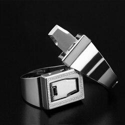 Ferramentas de anel de sobrevivência de segurança para mulheres edc auto-defesa anel de aço inoxidável refere-se a 12 opções de ferramentas de anel de proteção