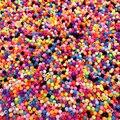 1000/500/300 шт/лот 3/4/5 мм разноцветный акриловые Круглые бусины для изготовления DIY обаятельные Браслеты и ожерелья ювелирные изделия, аксессуар...