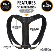 Posture corrector back support adjustable back posture corrector Adult posture back corrector Black Shoulder Correct Children children learning chair which can correct posture and lift freely