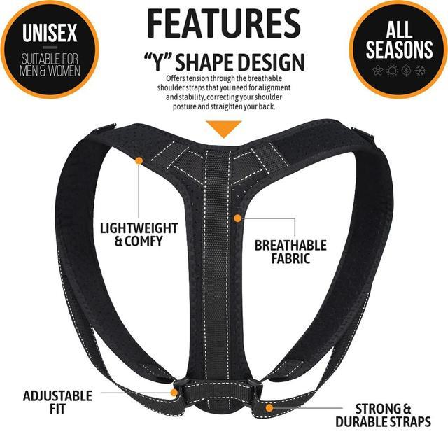 VIP DropShipping Medical Clavicle Posture Corrector Adult Children Back Support Belt Corset Orthopedic Brace Shoulder Correct 5