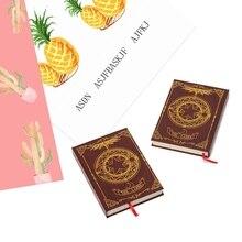 Аниме Cardcaptor Sakura notebook Captor Sakura CERBERUS Clow Libra узор звезда Clow Magic notebook дневник для друга подарок