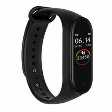 M4 Smart Bracelet Waterproof Fitness Sport Watch Color Screen Heart Rate Blood Pressure Sleep Monitoring