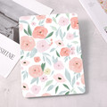 Pink Flowers For iPad 10.9 inch Air 4 2020 5th 6th 10.2 8th Generation 12.9 inch Pro 2018 Mini 4 5 Smart Case Con Portamatite