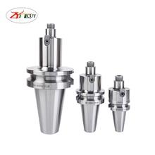 1PCS BT30 BT40 FMB22 FMB27 FMB32 FMB40 미터 평면 밀링 공구 핸들 CNC 도구 어셈블리 커터 헤드 및 밀링 섕크