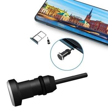 Наушники Пылезащитная заглушка для 3,5 мм AUX Jack интерфейс анти мобильный телефон карты, игла для извлечения карты для Apple Iphone 5 6 Plus портативных...