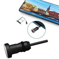 Fone de ouvido plug poeira 3.5mm aux jack interface anti cartão do telefone móvel recuperar cartão pino para apple iphone 5 6 plus computador portátil