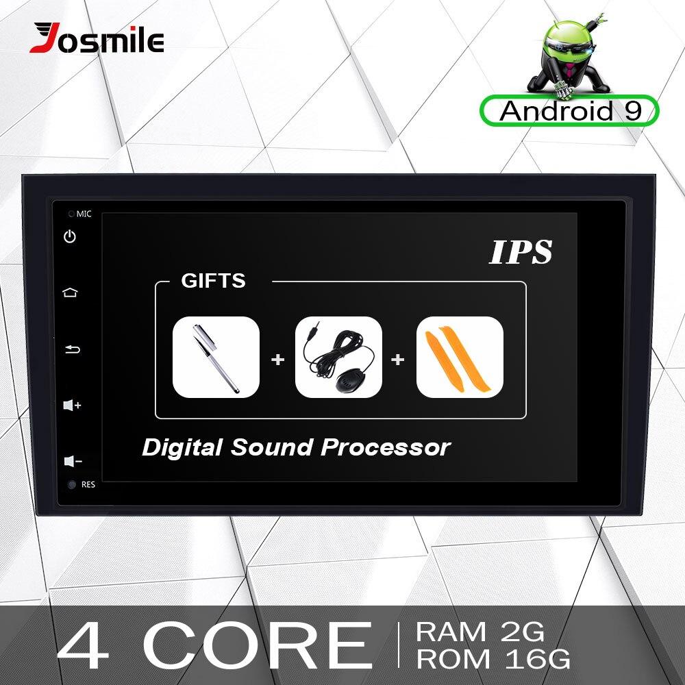 2 din Android 9.0 Autoradio Multimediale Per Audi A4 B6 B7 S4 B7 B6 RS4 B7 SEAT Exeo 2002 -2008 DVD di Navigazione GPS unità di testa Stereo