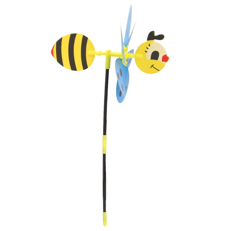 3D Insect Windmill Windsock Wind Spinner Kids Toys Yard Garden Decor Outdoor
