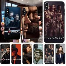 NBDRUICAI Prodigal Son Tom Payne Cover Black Soft Shell Phone Case for iPhone 11 pro XS MAX 8 7 6 6S Plus X 5S SE XR case printio max payne