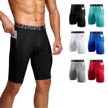 2021 Men Quick Dry Short Running Leggings Mens Compression Running Tights Gym Fitness Sport Shorts Leggings Male Panties homme