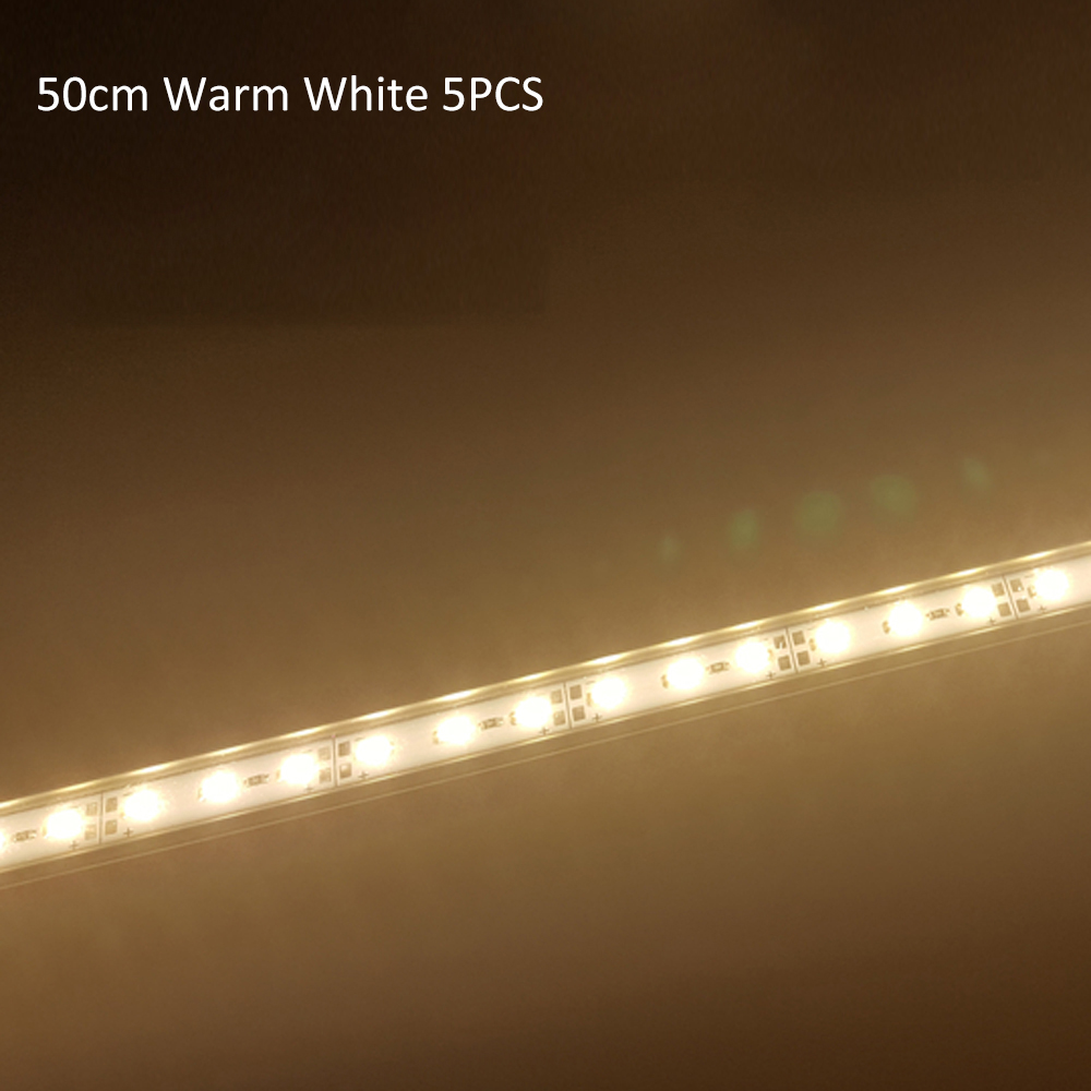 LED Bar Light 12V High Brightness 20/30/50CM SMD 5630 LED Rigid Strip Energy Saving LED Fluorescent Tubes 1pcs/5pcs/lot