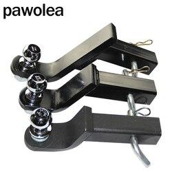 Modificado universal remolque gancho brazo remolque conector adaptador cabeza de bola 2 pulgadas 50MM yate RV remolque de gancho universal