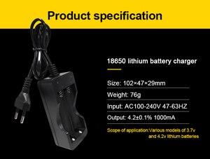 Image 5 - Voxlink 18650 carregador de bateria ue 2slots carregador de bateria recarregável li ion de carregamento inteligente