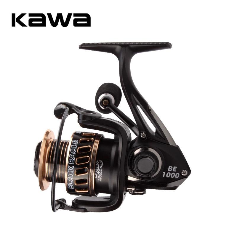 KAWA New Fishing Reel Spinning Wheel Trolling Lure Reel 9+1 Bearings Weight 207g Metal Alloy Spool Eva Handle Knob