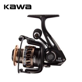 цена на KAWA New Fishing Reel Spinning Wheel Trolling Lure Reel 9+1 Bearings Weight 207g Metal Alloy Spool Eva Handle Knob