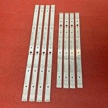 5set=40pcs LED backlight strip for LG 43UJ620V 43UJ6200 43UJ630V CRH-A4330300104L6CNRev1.0 CRH-A4330300105R6CNRev1.0