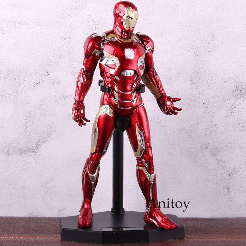 1:6 jouets fous Marvel Avengers fer homme Figure marque XLV Ironman MK45 1/6 échelle fer homme Action figurine modèle à collectionner jouet