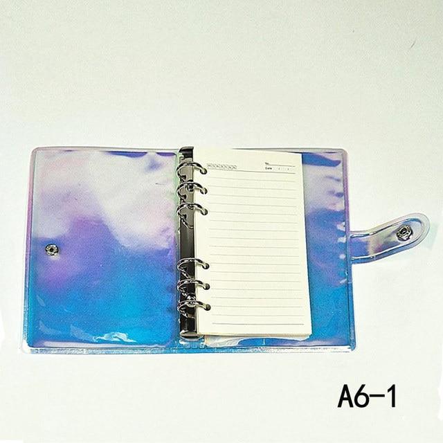 A5 A6 Classic Loseblatt-Ringbuch-Notizbuchplaner-Tagebuchabdeckung M6V6