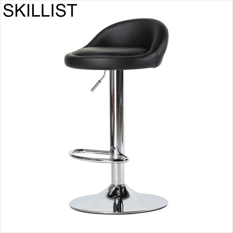 Ikayaa Cadir Barkrukken La Barra Kruk Taburete Sgabello Stoel Tabouret De Comptoir Stoelen Cadeira Silla Stool Modern Bar Chair