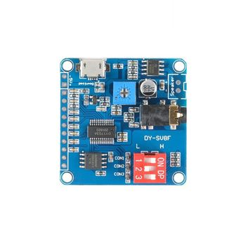Mini DY-SV8F MP3 Music Player Voice Playback Module Board Serial Control SD/TF Card Electronic Components