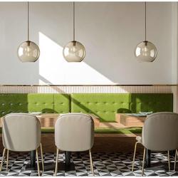 Nordic szklana lampa wisząca żelaza nowoczesne wiszące oświetlenie salon jadalnia nocna sypialnia Loft lampa wisząca w Wiszące lampki od Lampy i oświetlenie na