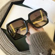 Alta qualidade retro quadrado óculos de sol senhoras óculos de sol óculos de condução óculos de sol proteção uv uv400